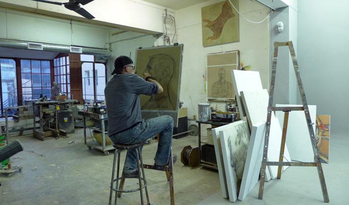 Stefan Blom drawing Tako Soulman