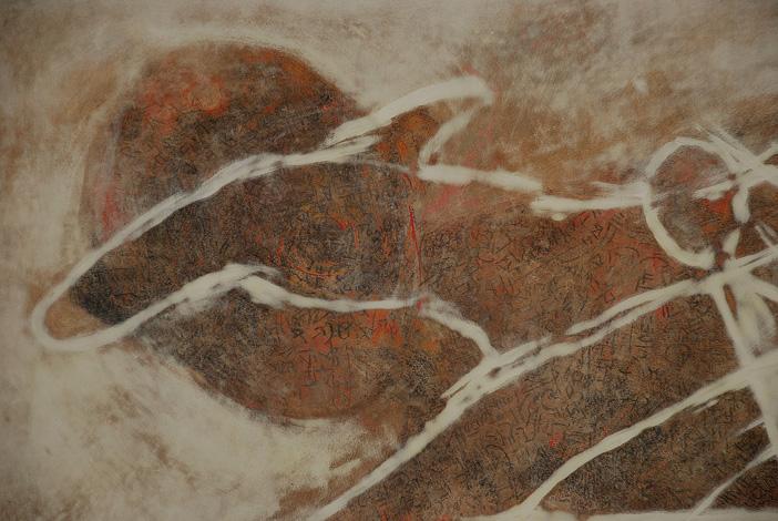 Stefan Blom | 'a 'nursery ryme' detail 1450mm x 750mm, oil on canvas